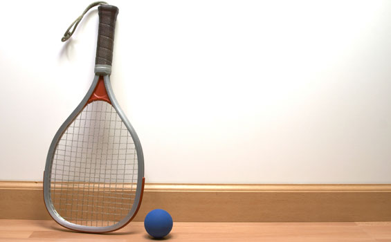 Cbra home for Average cost racquetball court